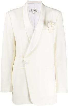 MM6 MAISON MARGIELA Long Sleeve Wrap Blazer
