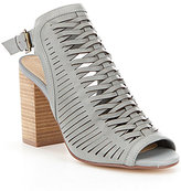 Chinese Laundry Torey Huarache Block Heel Peep-Toe Sandals