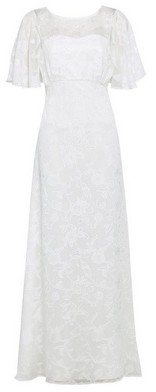 Dorothy Perkins Womens Showcase Bridal Leyla Burnout Maxi Dress