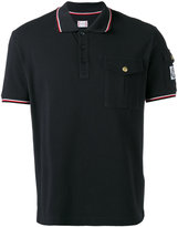Moncler Gamme Bleu shortsleeved polo shirt - men - Cotton - M