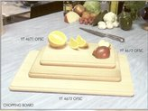 H & L Russel Ltd Chopping Board with Rounded Profiled Edge, FSC Beech Wood 45 x 30 x 2 Centimetres