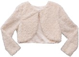 Bonnie Jean Girls 7-16 Printed Skin Faux Fur Jacket