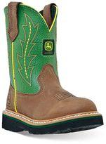 John Deere Boy's Pull-On Western Boots
