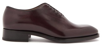 Christian Louboutin Cousin Corteo Square-toe Leather Oxford Shoes - Red