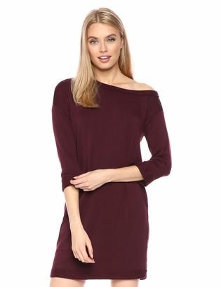 Splendid Women's Off Shoulder French Terry Dress