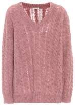 Miu Miu Alpaca and wool-blend sweater