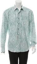 Robert Graham Embroidered Button-Up Shirt