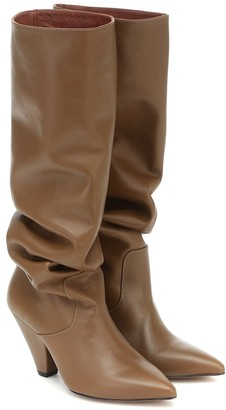 Souliers Martinez San Jose knee-high leather boots