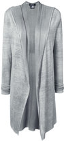 Avant Toi broad lapel open cardigan - women - Linen/Flax/Polyamide - S