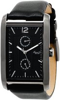 Kenneth Cole New York Kenneth Cole Men's Mens KC1635 Leather Quartz Watch with Dial
