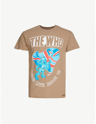 Bravado The Label The Who graphic-print cotton-jersey T-shirt
