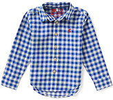 Joules Little Boys 3-6 Sark Long Sleeve Gingham Woven Shirt