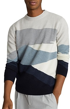 Reiss Colorblocked Sweater