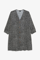 Monki Oversized button-up dress