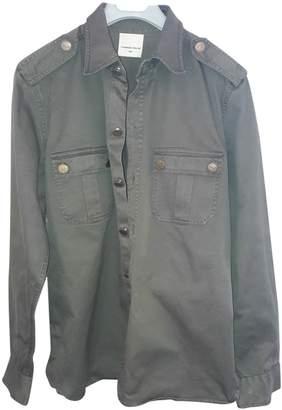 Laurence Dolige Khaki Cotton Jacket for Women