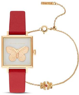 Olivia Burton 3D Butterfly Chinese New Year Watch, 22.5mm x 22.5mm