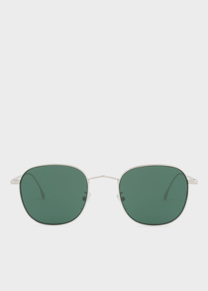 Paul Smith Silver 'Arnold' Sunglasses