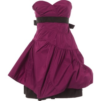 Miu Miu Pink Polyester Dresses