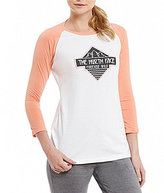 The North Face Tenaya 3/4 Sleeve Baseball Tee