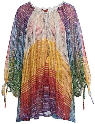 Missoni Rainbow Short Coverup