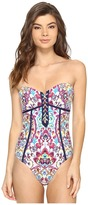 Nanette Lepore Festival Folkloric Seductress One-Piece Women's Swimsuits One Piece