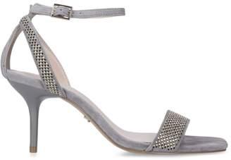 Carvela Embellished Suede Genetic Sandals 80