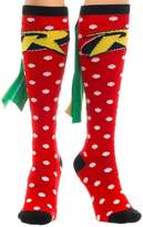 Bioworld Batman & Robin - Fashion Knee High Socks with Wings - & Green