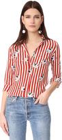 Stella Jean Button Down Silk Shirt