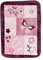 Lambs & Ivy Butterfly Bloom Warm & Cozy Blanket