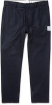 Moncler Gamme Bleu - Slim-fit Wool-felt Trousers