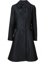 Co flared button coat