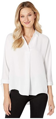 Nic+Zoe Walk in The Park Top (Paper White) Women's Clothing