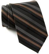 English Laundry Striped Silk Tie