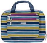 Baggallini Tropical Stripe Deluxe Toiletry Bag