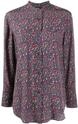 Aspesi Paisley-Print Silk Shirt