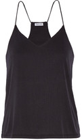 Splendid Ribbed Stretch Modal-blend Camisole - Black