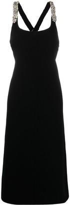 Lanvin Bead-Embellished Cocktail Dress
