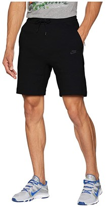 Nike NSW Tech Fleece Shorts (Black/Black) Men's Shorts