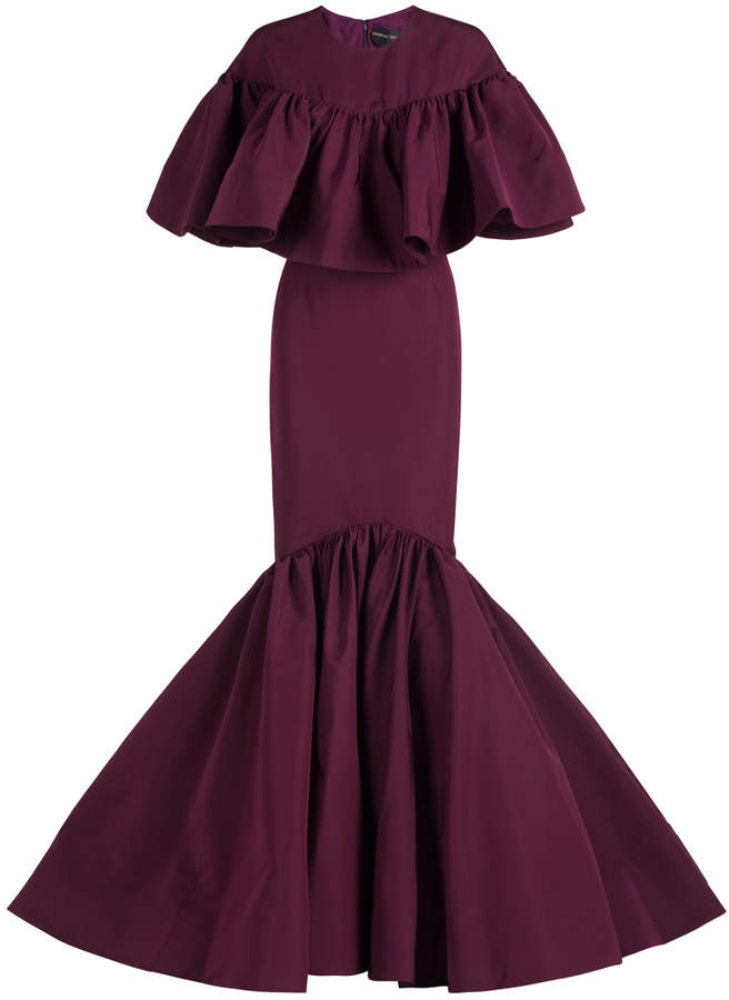 Christian Siriano Ruffle Gown