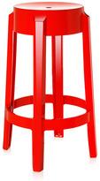 Kartell Charles Ghost Stool 65cm Red