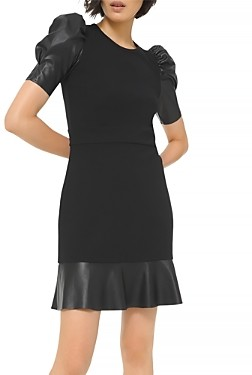 MICHAEL Michael Kors Mixed Media Mini Dress