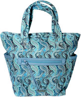 Waverly Swirled Paisley Large Tote Bag