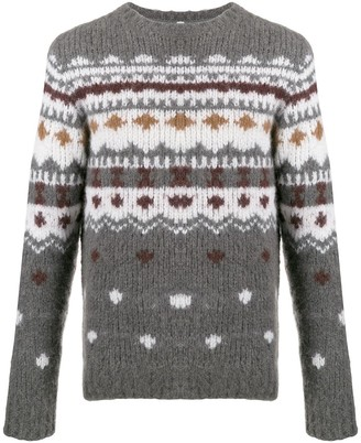 Eleventy Embroidered Sweater