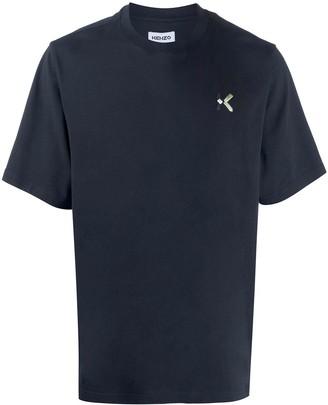 Kenzo embroidered-logo cotton T-shirt