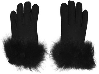 UGG Long Pile Bow Gloves