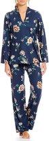 N by Natori Floral Jersey Pajamas
