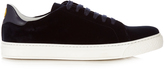 Anya Hindmarch Wink low-top velvet trainers