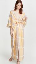 Johanna Ortiz Paradise Midi Dress