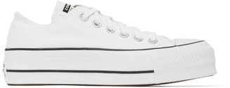Converse White Chuck Lift Low Sneakers