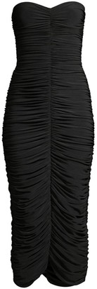 Norma Kamali Slinky Sweetheart Bodycon Dress